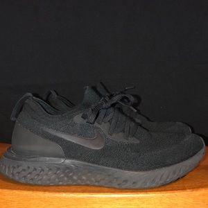 Nike Epic React Flyknit 2, Women's, Black